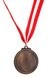 Bronze medal Stock Images