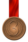 Bronze medal Stock Photos