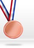 Bronze Medal Illustration. Stock Images