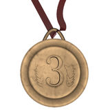 Bronze medal Stock Photo