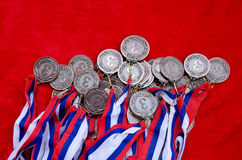 Bronze medals Royalty Free Stock Photo