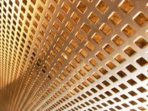 Bronze mesh Royalty Free Stock Images