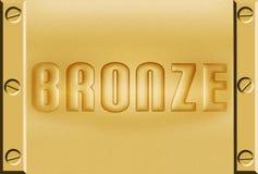 Bronze metal background Stock Image