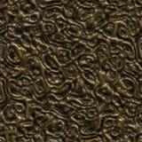 Bronze metallic surface Royalty Free Stock Photography