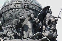 Bronze monument Stock Photos