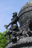 Bronze monument Royalty Free Stock Photos