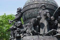 Bronze monument Stock Photo