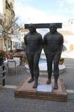 Bronze monument in Estepona Royalty Free Stock Image