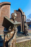 Bronze monument Goettinger Sieben in Hanover, Germany Stock Photo
