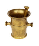 Bronze mortar with pestle Stock Photography