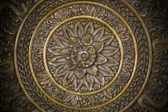 Bronze ornament royalty free stock images