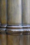 Bronze painted column's details Stock Images