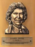 Dinah Shore. The bronze plaque for World Golf Hall of Fame enshrinee Dinah Shore royalty free stock photos