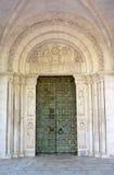 Bronze portal Stock Image