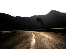 Bronze Road stock photography