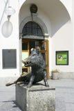 Bronze Sculptur of a Boar, German Jagd und Fischereimuseum in Mu Stock Photos