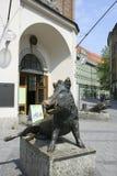 Bronze Sculptur of a Boar, German Jagd und Fischereimuseum in Mu Stock Images