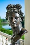Bronze Sculpture of Apollo stock images