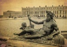 Bronze sculpture at the garden of Versailles palace, France 2 Stock Photos