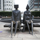 Bronze sculpture Stock Photos