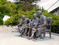 Bronze sculpture Royalty Free Stock Image