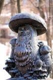 Bronze sculpture Stock Image