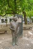 Bronze sculpture by Wilhelm Kaisen, Bremen, Germany Stock Image