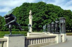 Bronze sculptures in Vigeland park , Oslo Stock Images