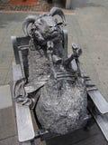 Bronze Sheep Statue Royalty Free Stock Photos