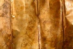 Bronze sheet metal Stock Photo