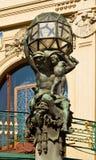 bronze skulptur Arkivfoto