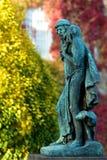 bronze skulptur royaltyfri foto