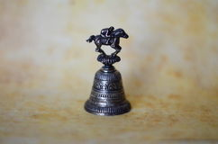 Bronze souvenir bell Royalty Free Stock Photo