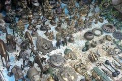 Bronze souvenirs Royalty Free Stock Photos