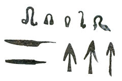 Free Bronze Spear And Arrowheads Stock Photos - 16633223