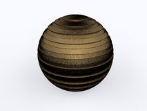 Bronze sphere Royalty Free Stock Photography