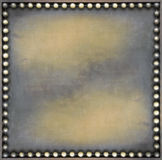Bronze square Royalty Free Stock Photography