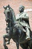 Bronze statue. Royalty Free Stock Photo