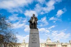 Bronze statue of Charles James Napier Stock Photo