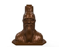 Bronze Statue of Confucius Royalty Free Stock Photo