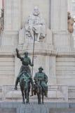 Don Quixote and Sancho Panza Stock Image