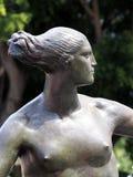 Bronze Statue,  Female Stock Images