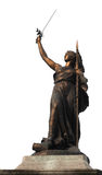 Bronze statue, france Royalty Free Stock Images