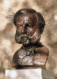 Bronze statue of Henri or Henry Dunant, Geneva, Stock Photos