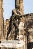 Bronze statue Stock Image