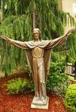 Bronze statue of Jesus Christ Stock Photos