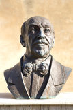 Bronze statue of Luigi Pirandello Stock Images
