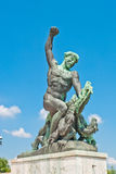 Bronze statue Stock Photo