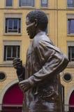 Bronze statue of Nelson Mandela royalty free stock image