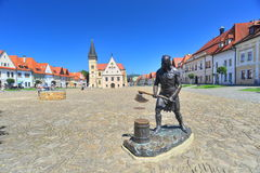 Free Bronze Statue Of Executioner In Bardejov Royalty Free Stock Images - 97419539
